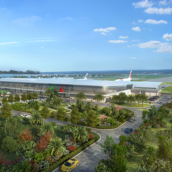 Bermuda International Airport, Redevelopment and New Terminal