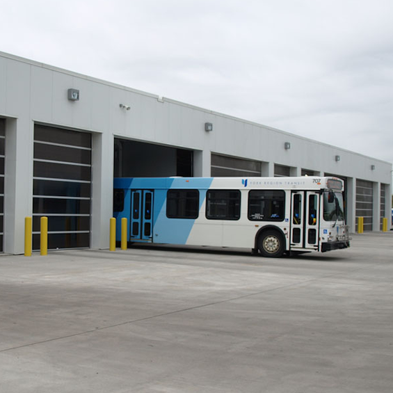 image of York Region Operations and Maintenance Bus Garage