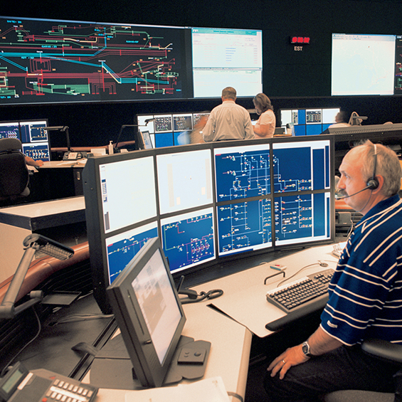 image of Hydro One, Ontario Grid Control Centre