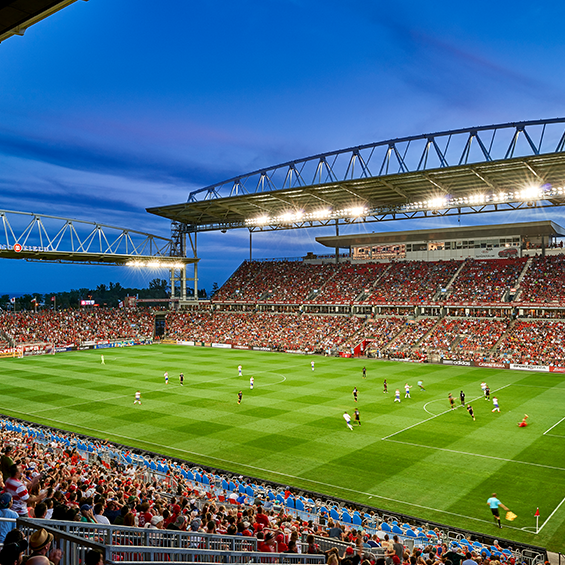 image of Maple Leaf Sports and Entertainment, BMO Field Expansion