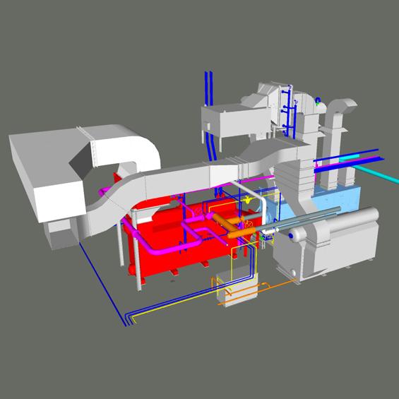 image of McMaster University, Trigeneration Plant