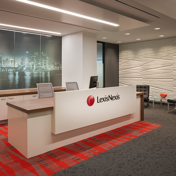 LexisNexis Office Fitout