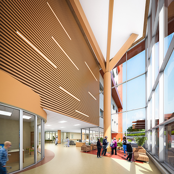image of Penticton Regional Hospital, David E. Kampe Patient Care Tower