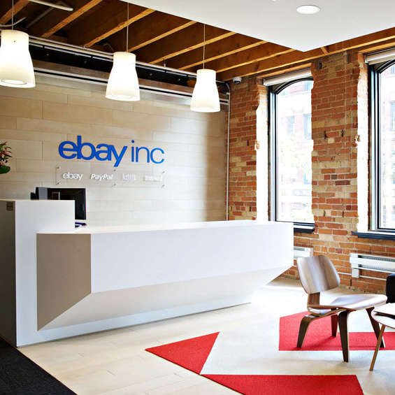 eBay Canada, Heritage Building Office Renovation