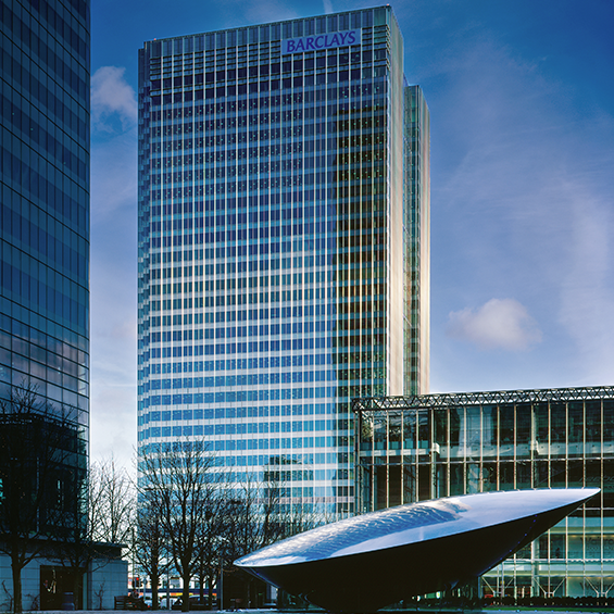 image of Canary Wharf Contractors Ltd., Barclays Bank HQ & Computer Centre