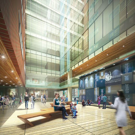 image of Infrastructure Ontario and St. Michael's Hospital Peter Gilgan Patient Care Tower