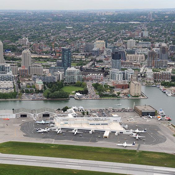 Billy Bishop Toronto City Airport,  Expanded Air Terminal Building