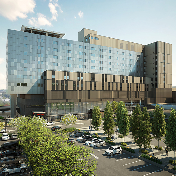 image of Fraser Health Authority, Royal Columbian Hospital Redevelopment
