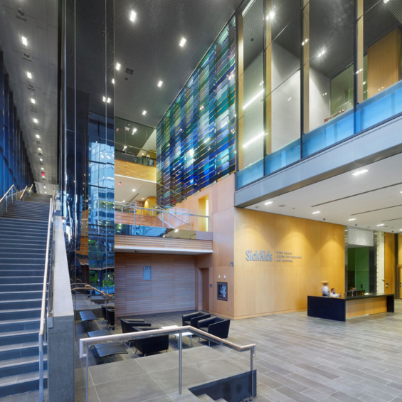 SickKids' Peter Gilgan Centre for Research and Learning, ICAT