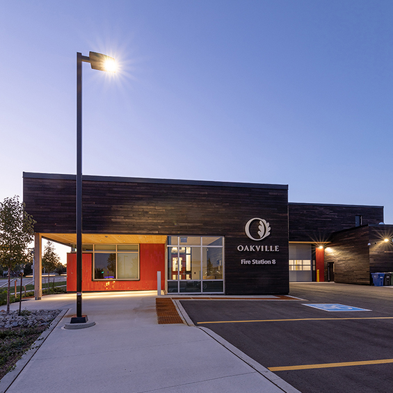 image of Town of Oakville, Fire Hall #8
