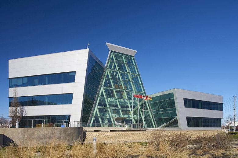 Exterior of Peel Regional Police Headquarters