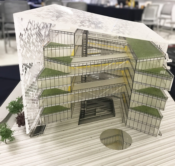 Model of TecNano Academy Building