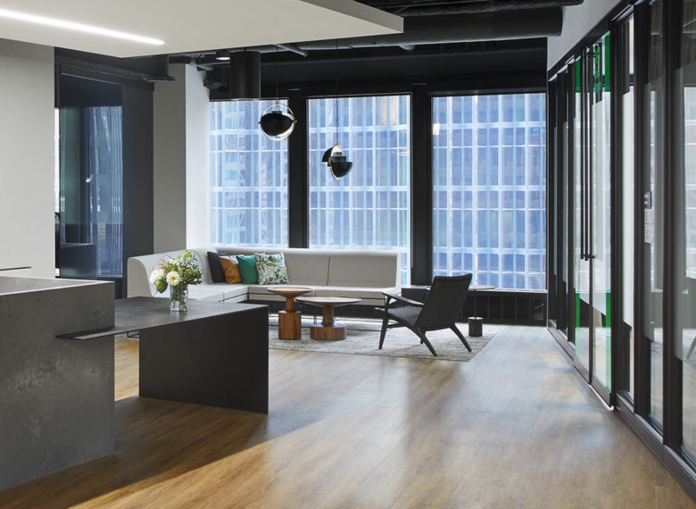 Interior of TD5 ETS CSTS Tenant Fitout