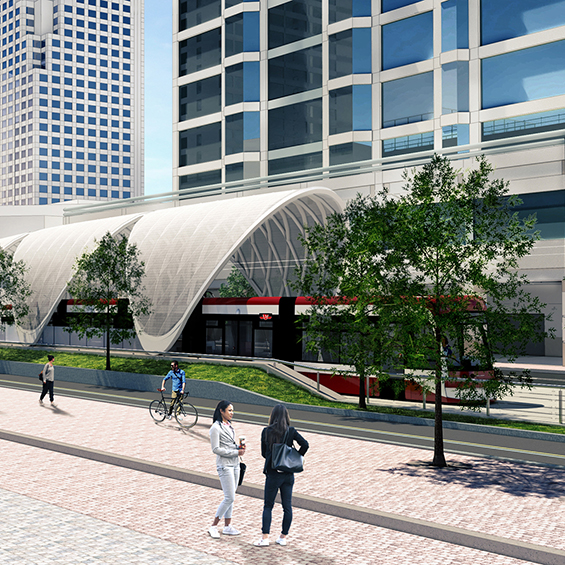 image of Waterfront East LRT – Union Station to Queens Quay Link